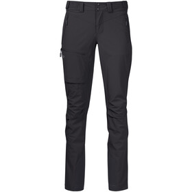 Bergans Breheimen Softshell Broek Dames, solid charcoal/solid dark grey